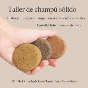 taller de champu solido castelldefels