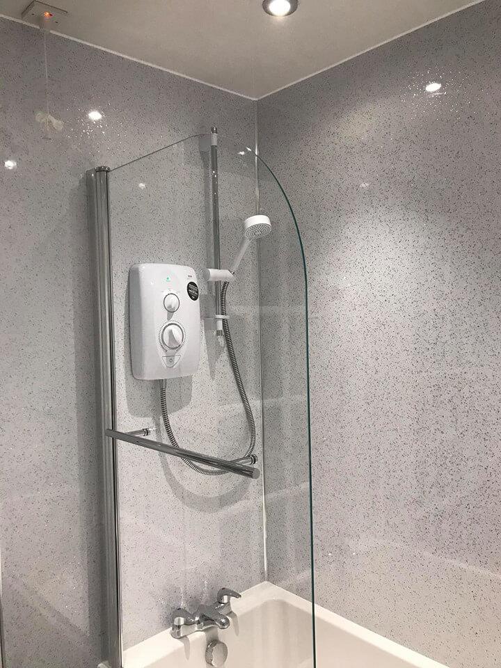 Port Seton, Wet Wall Bathroom Install