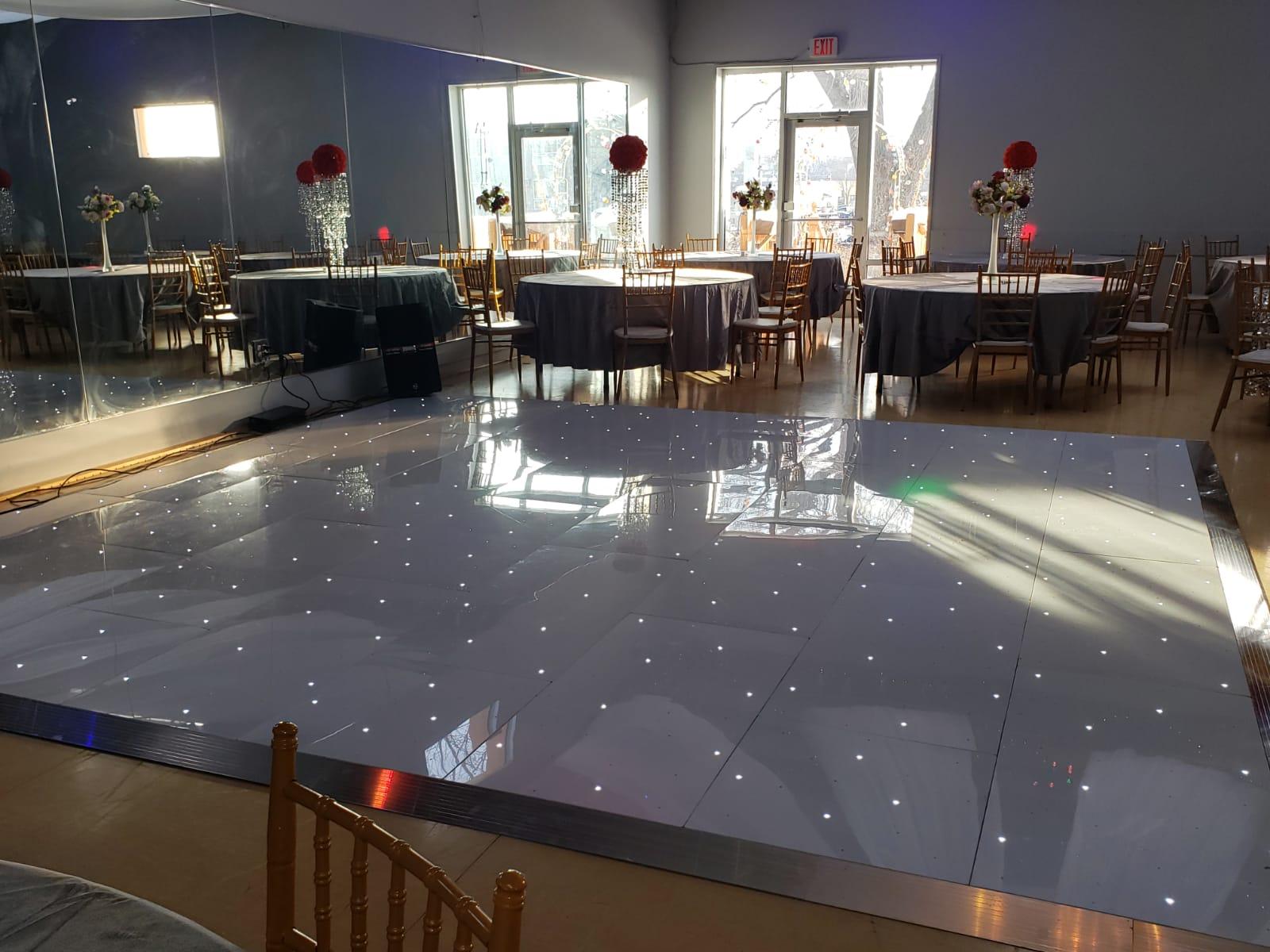 Led starlight dance floor