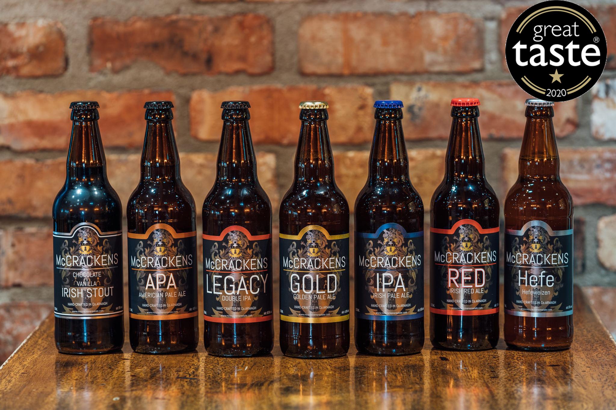 Award winning beers