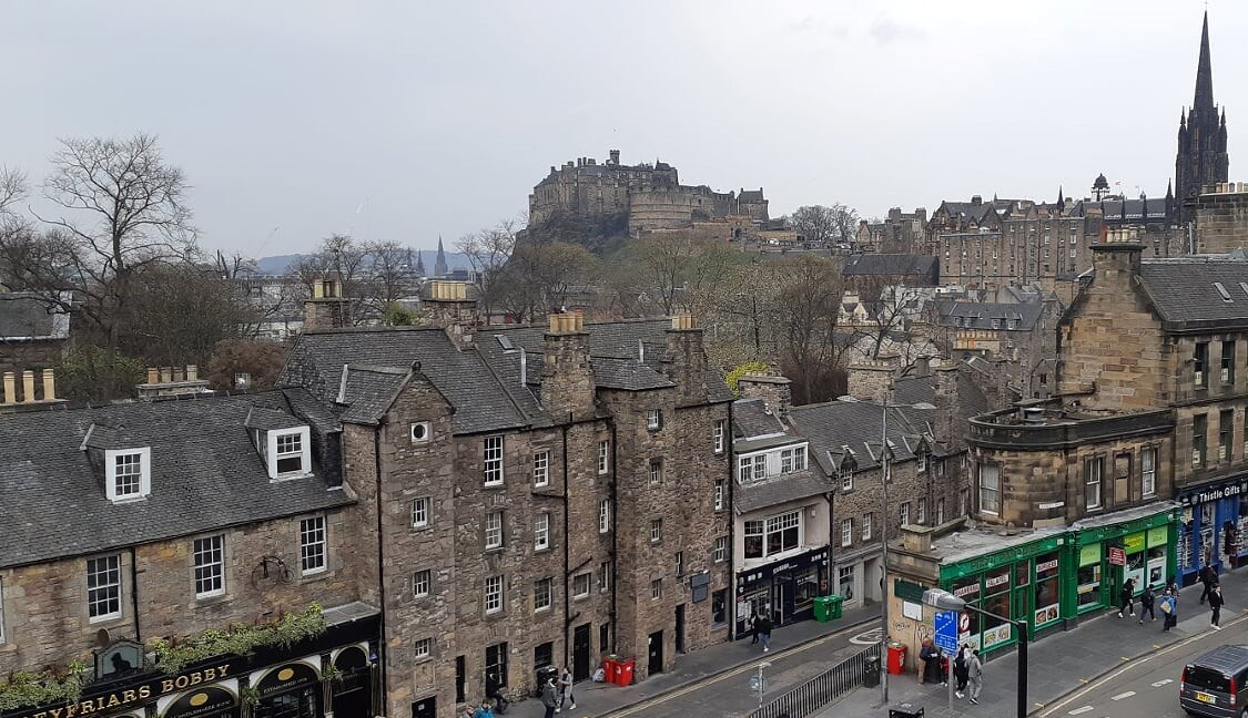 Edinburgh's Royal Mile is a treat
