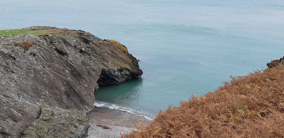 Glen Beach Cliff Walk, Wicklow
