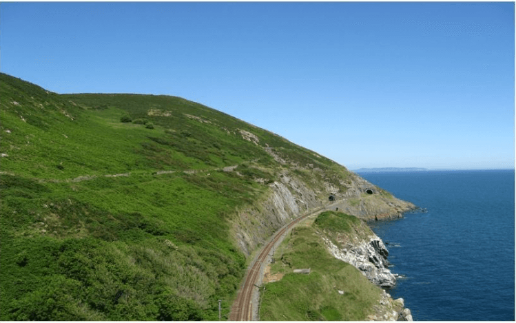 Bray Greystones cliff walk Co Wicklow