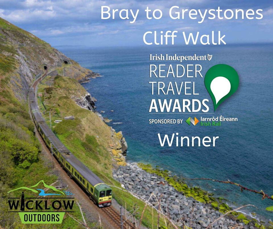 Travel Award for Bray to Greystones cliff walk