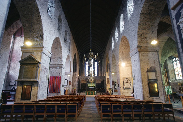 Saint Mary's Cathedral, Limerick's medieval quarter