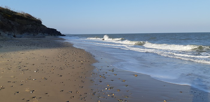 Seafield Beach, in north wexford