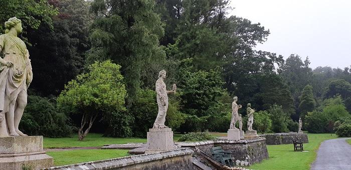 Statue Walkway