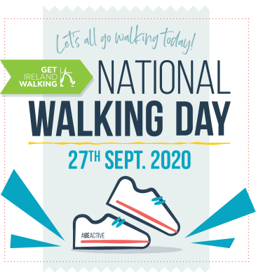 National walking day september 2020
