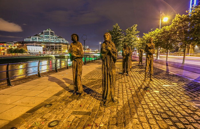 National Famine Way stretches from Roscommon to Dublin