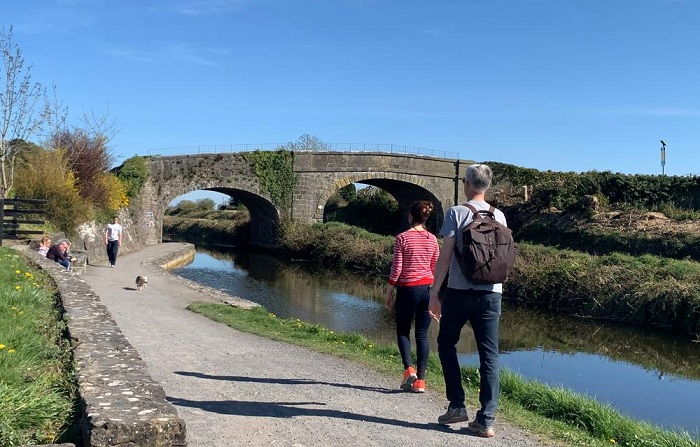 walkers on the national famine way