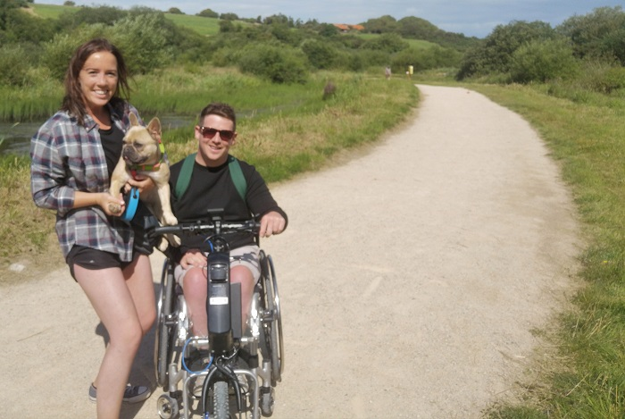 Accessibility struggle is wheel for Leona and Michael