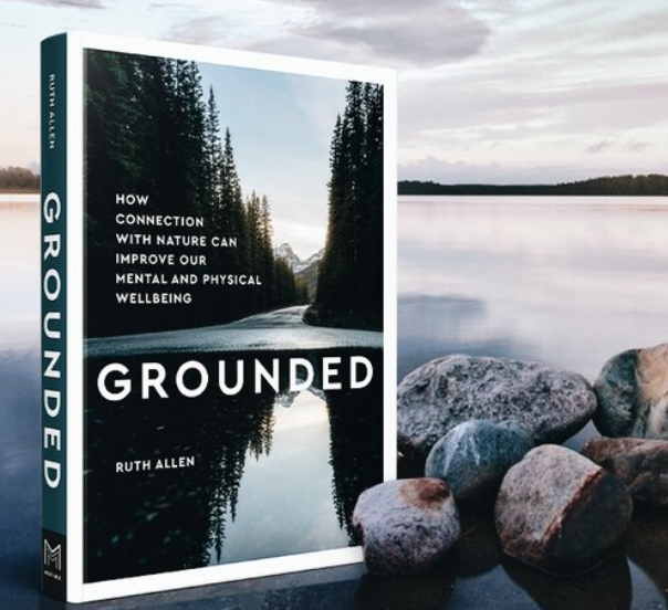 Grounded book cover, connecting with nature