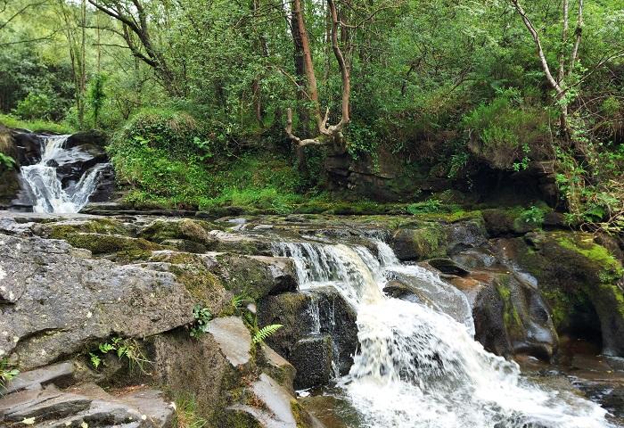 Glenbarrow Waterfall, Deirdre O'Flynn, a mindful walker
