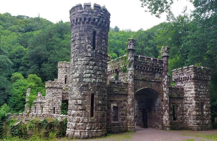 Ballysaggartmore towers, lismore
