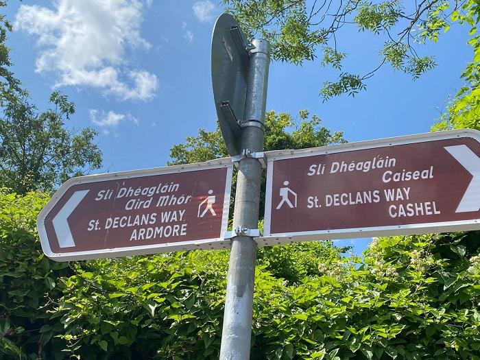St Declan's Way signage