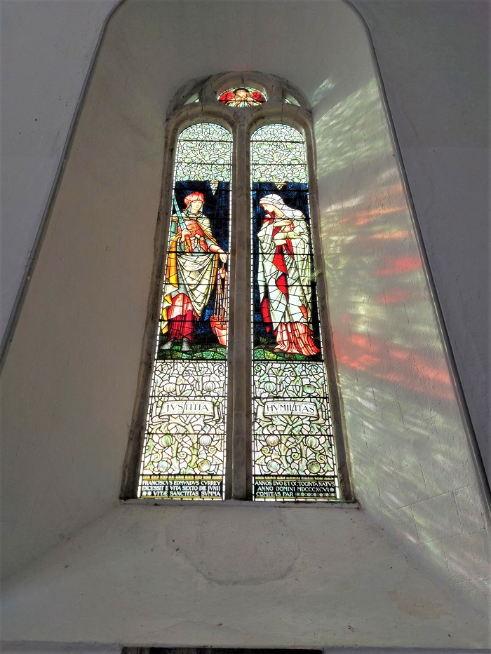 Stained glass window, St Carthage's Cathedral, Lismore