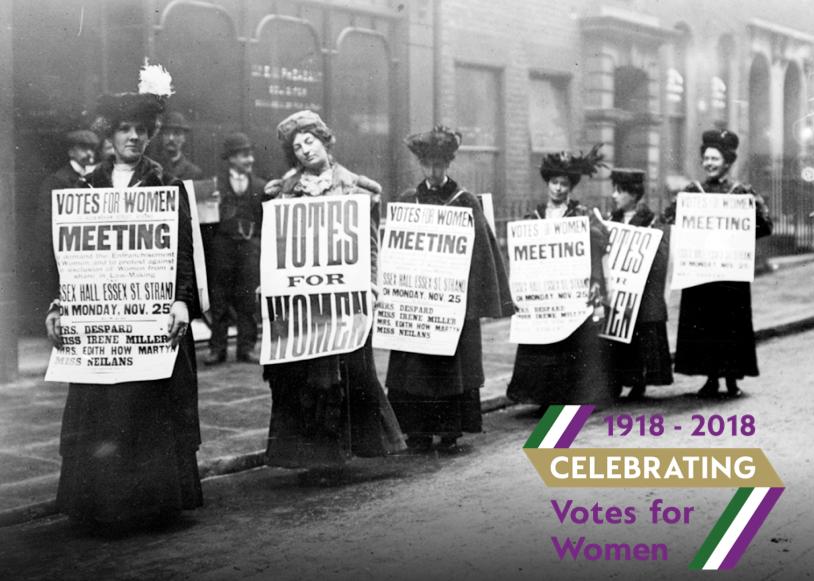Celebrating Votes for Women