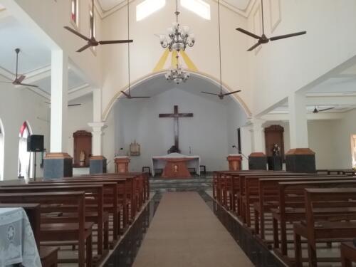 Chapora Chapel Interior