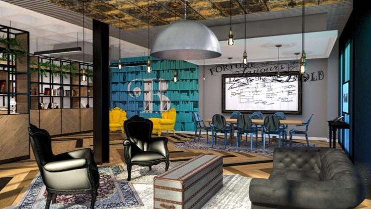 Bold creative space-as-a-service environments