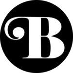Bold round icon logo