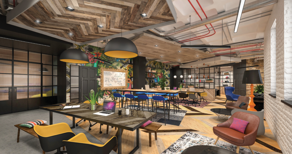 Bold Coworking Funky