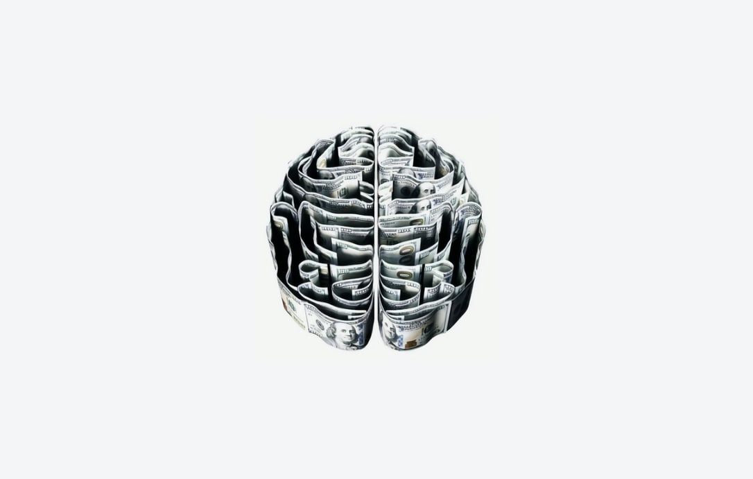 Artistic image of a brain