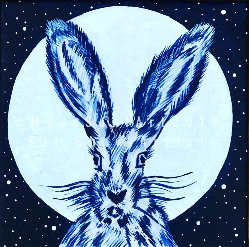 Little Moon Hare (Silver)