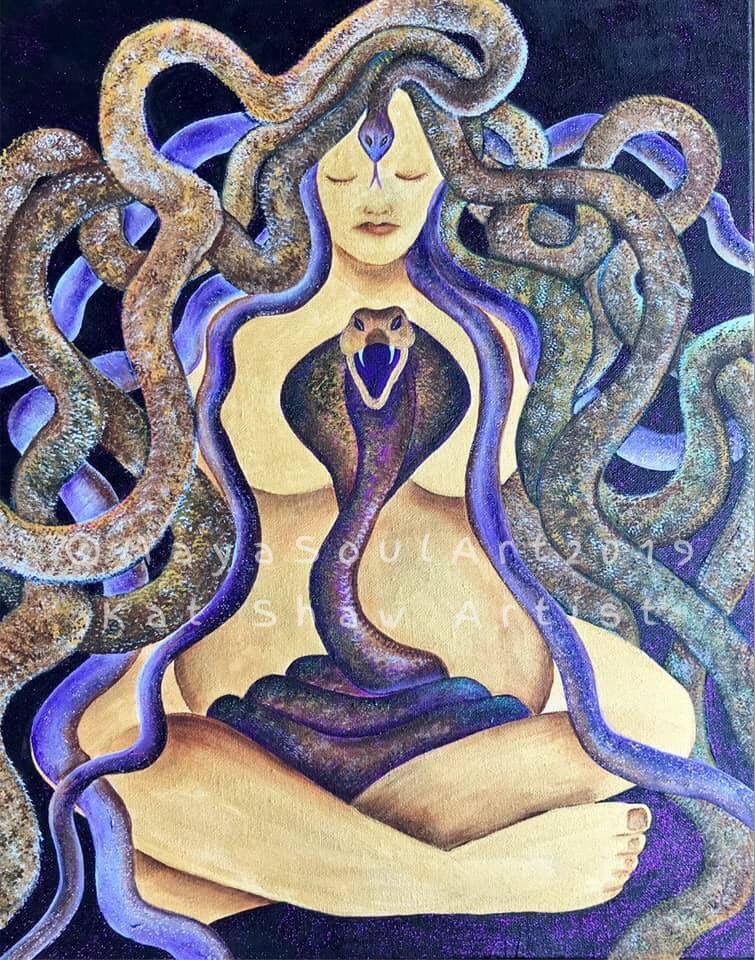 Avalon Snake Goddess