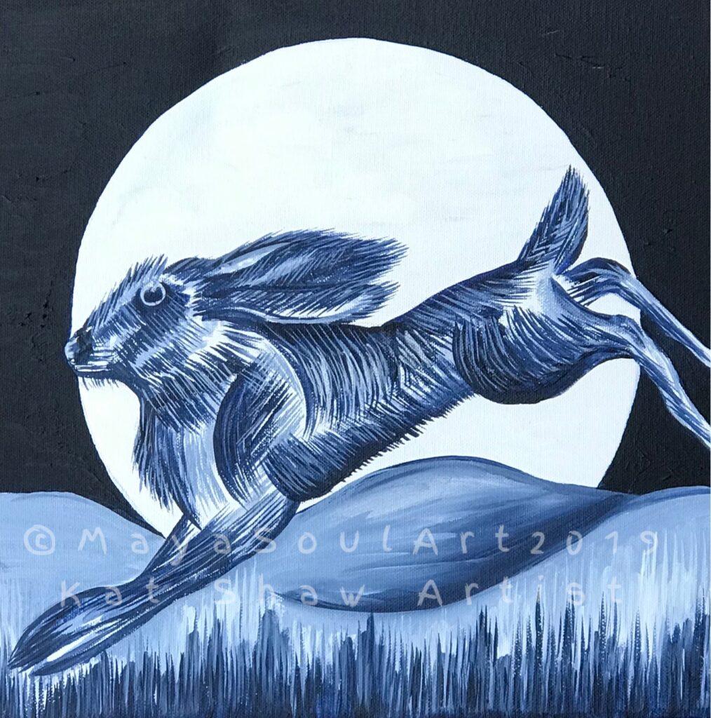 Dancing Moon Hare