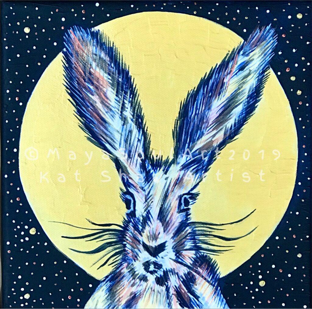 Little Moon Hare (Gold)