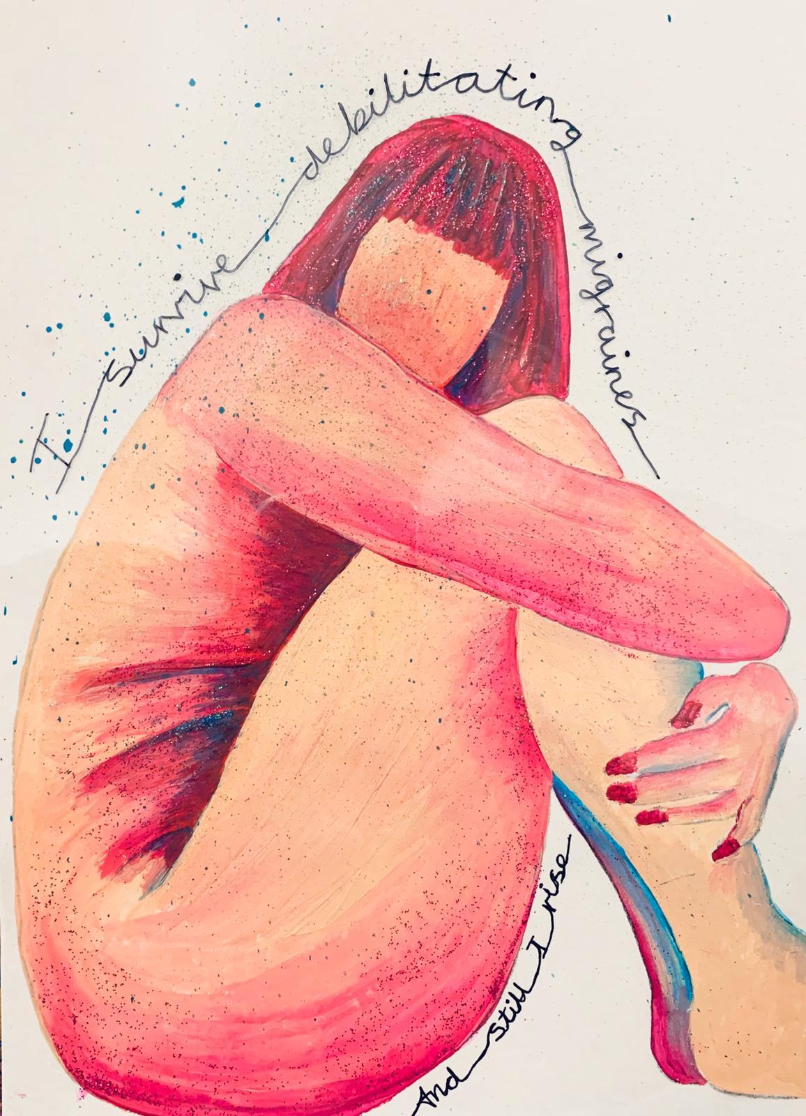 I survive debilitating migraines