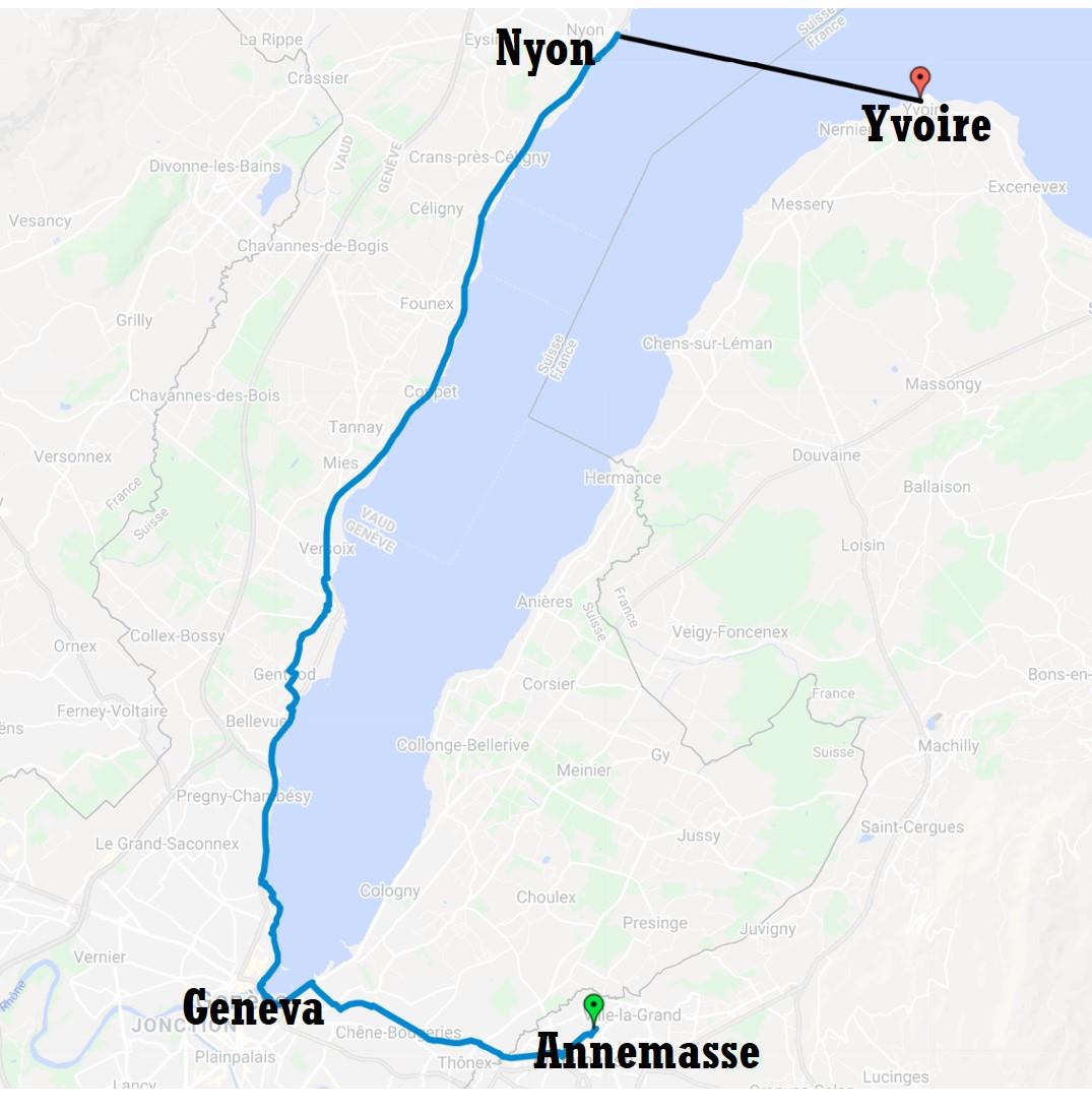 Excursion map
