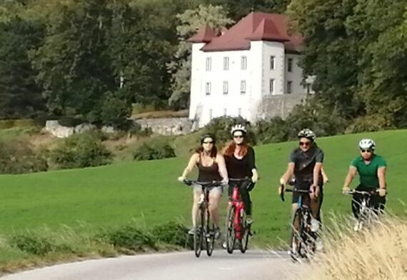 bike trip close to Chartreuse de Pomier