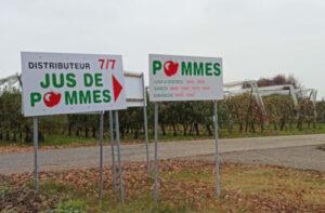 producteur de pommes à Plan-les-Ouates