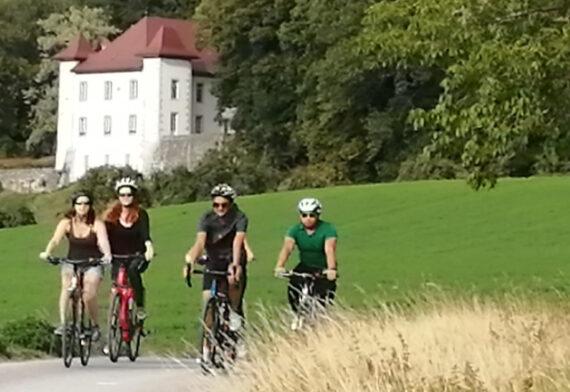 bike day tours in the Geneva area