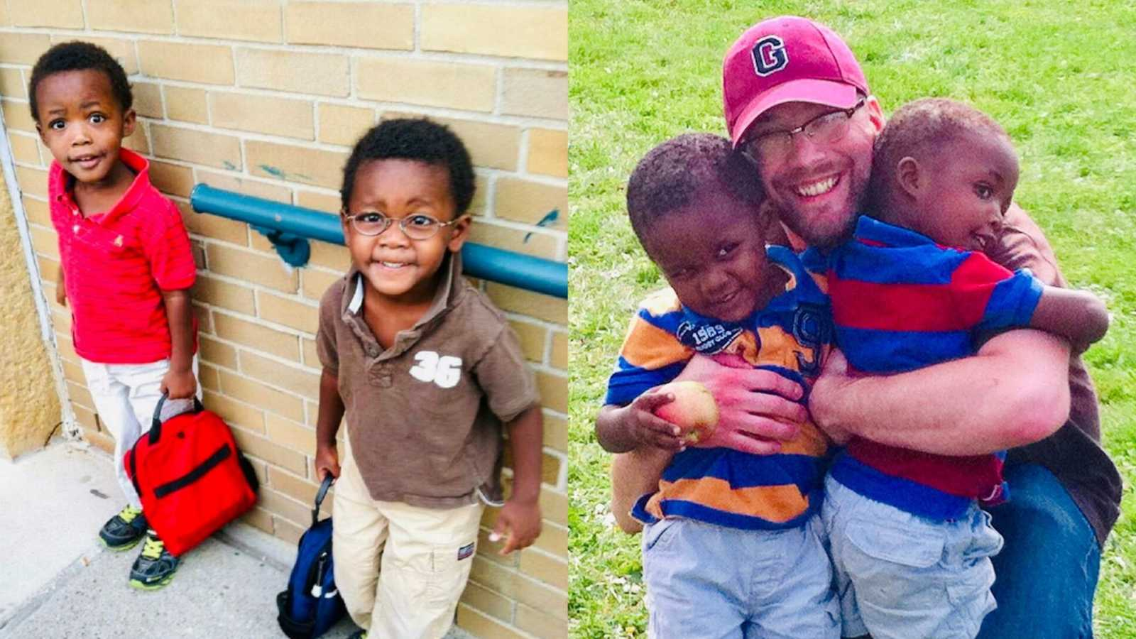 'The adoption date changed. Then the unthinkable happened. My darling husband collapsed from a seizure.': Husband dies 2 weeks before twin adoption finalized to become 'official family of 5' – Love What Matters
