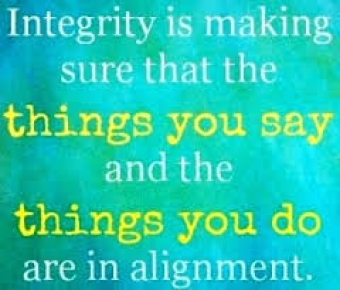 Integrity Is as Integrity Does