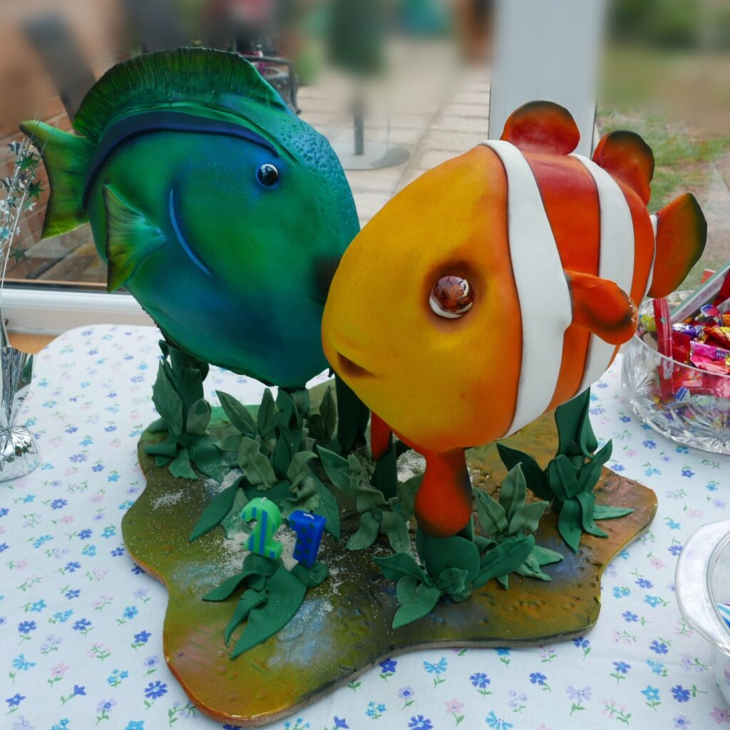 gallery sculpted fish cake