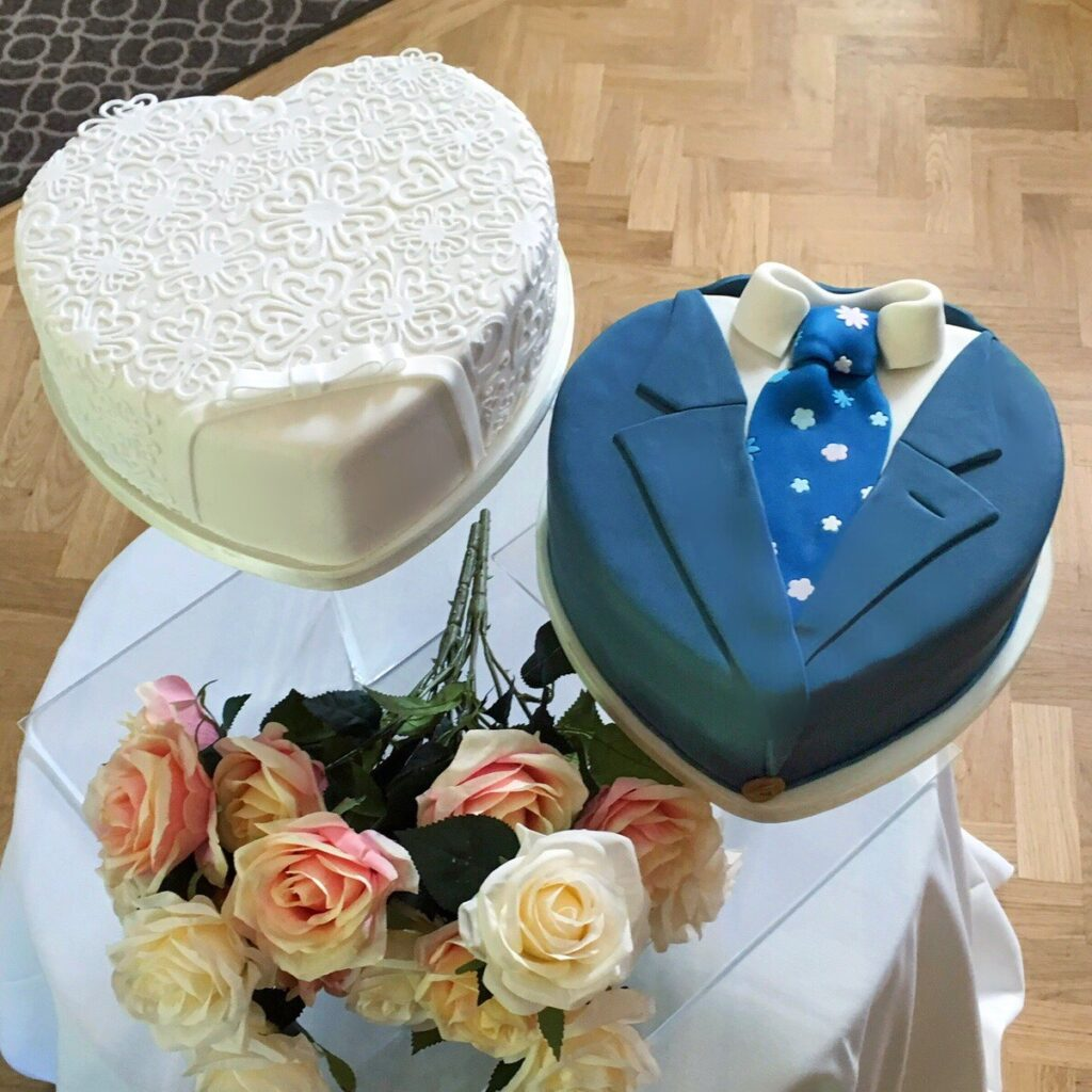 Bespoke Cake - His and Hers