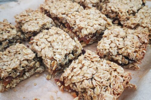Fruit Filled Flapjacks