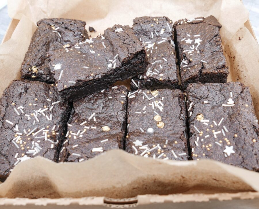 Black Cocoa Brownies