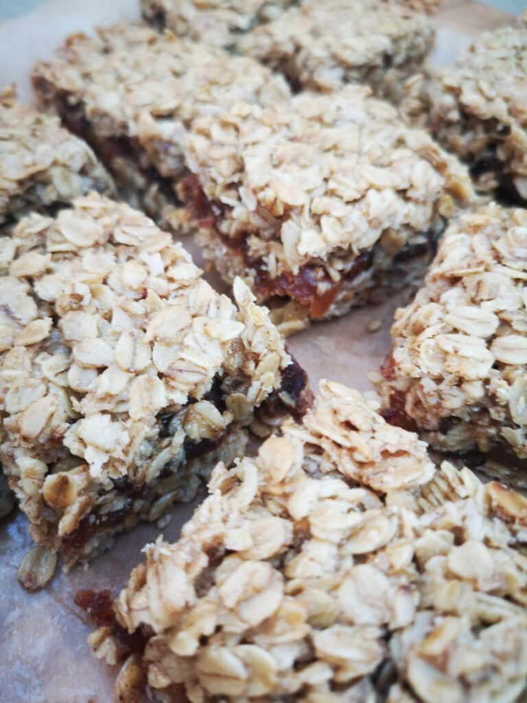 Fruit Filled Flapjack