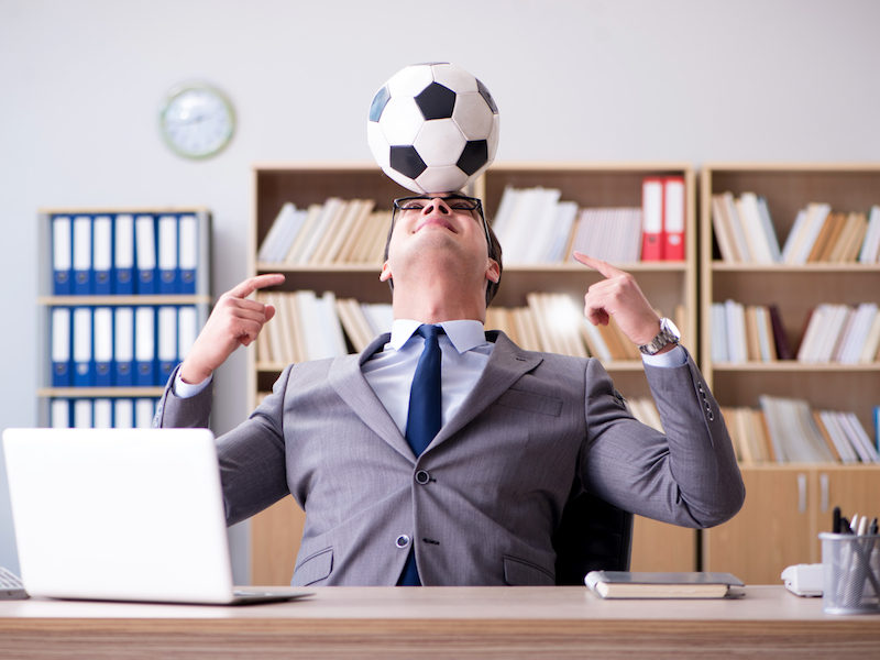 Football is not just a game – It's a game changer for team building