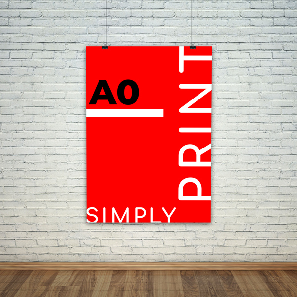Buy A0 Posters Online   Next Day Delivery   Simply Digital Print