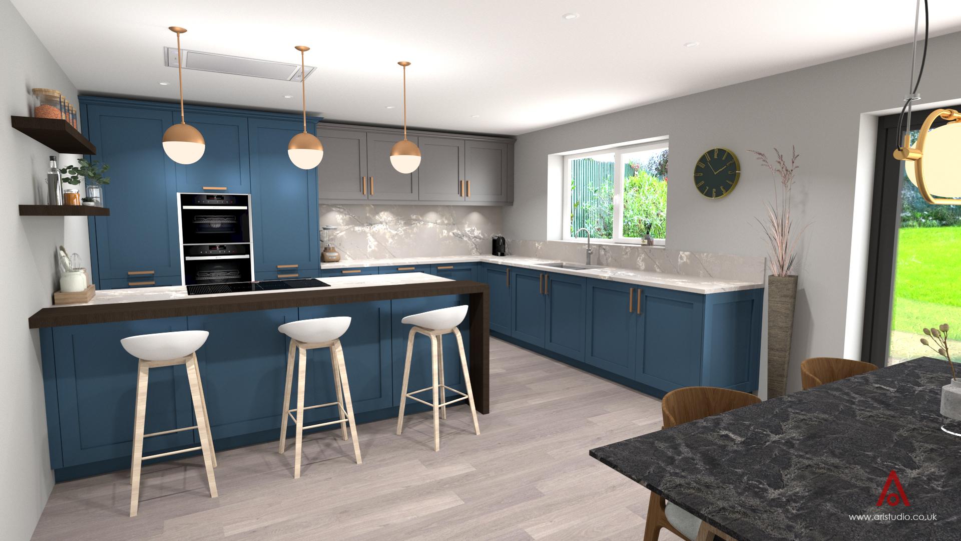 Kitchen design by Ari Studio