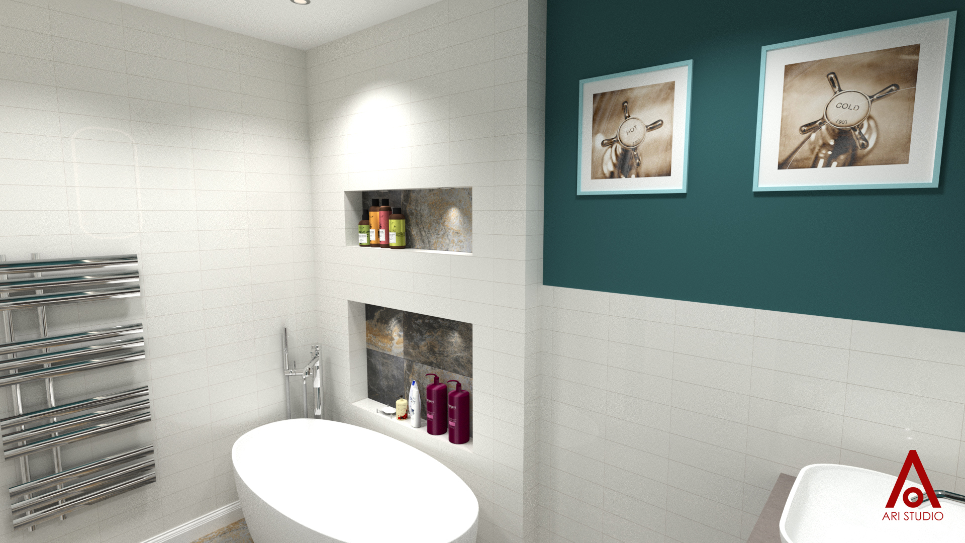 Bathroom Design by Ari Studio