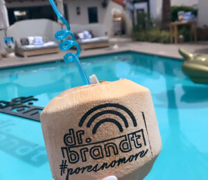 DrBrandt branded coconut