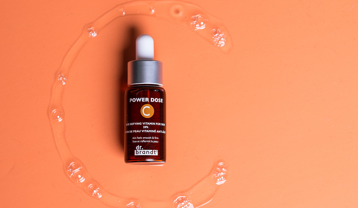 Age defying Face serum containing Vitamin C