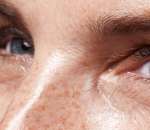 Aging gracefully: the look of a woman's eyes