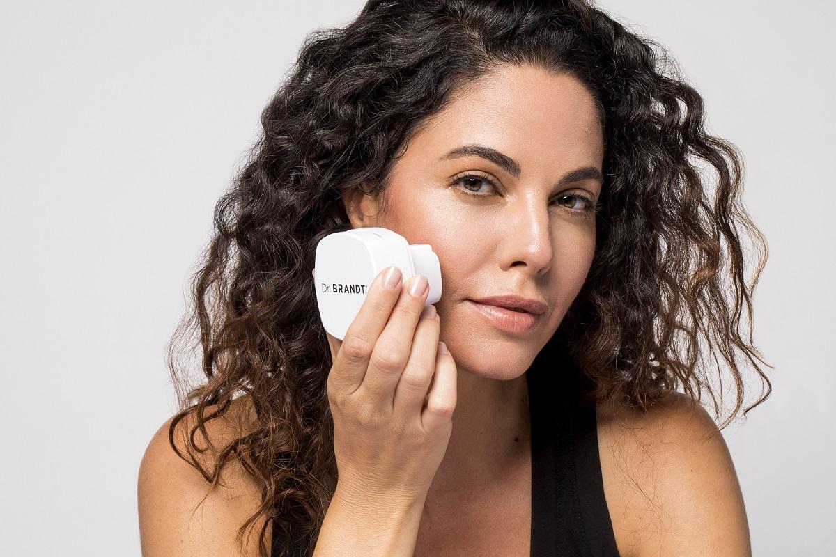 Women using DrBrandt skin care